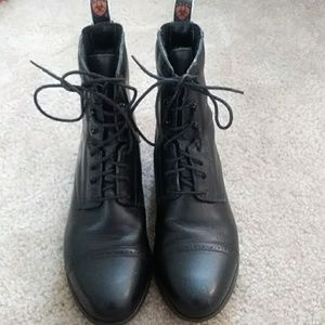 Ariat Leather Upper Boots Size 8 1/2